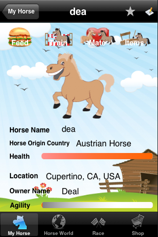 Screenshot Virtual iHorse Pet